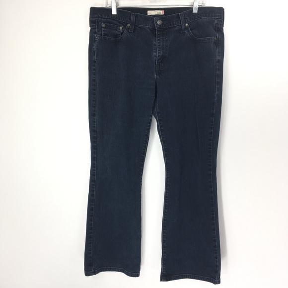 Levi's Denim - Levis 14S Jeans 515 Bootcut Dark Wash Indigo Denim